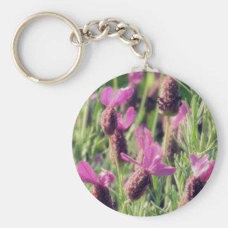 Lavender Field Keychain