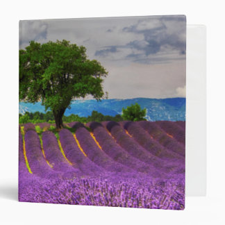 Lavender Field scenic, France Binder