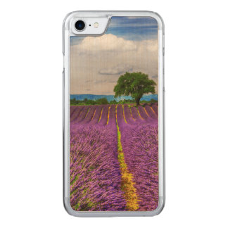 Lavender Field scenic, France Carved iPhone 7 Case