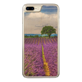 Lavender Field scenic, France Carved iPhone 7 Plus Case