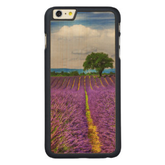 Lavender Field scenic, France Carved® Maple iPhone 6 Plus Case