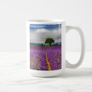Lavender Field scenic, France Coffee Mug