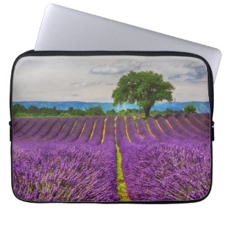Lavender Field scenic, France Computer Sleeves
