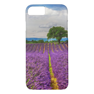 Lavender Field scenic, France iPhone 7 Case
