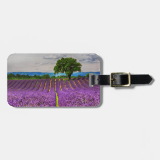 Lavender Field scenic, France Luggage Tag