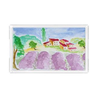 Lavender Fields Abbaye de Senanque | Provence Acrylic Tray
