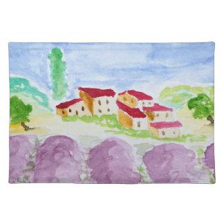 Lavender Fields Abbaye de Senanque   Provence Placemat