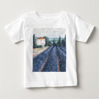 LAVENDER FIELDS BABY T-Shirt