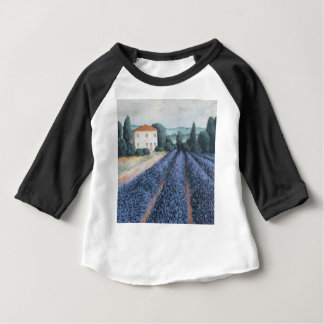 LAVENDER FIELDS BABY T-Shirt