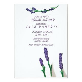 Lavender Fields Bridal Shower Invitation