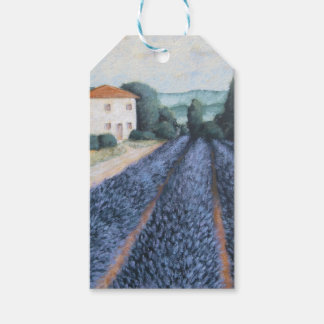 LAVENDER FIELDS GIFT TAGS