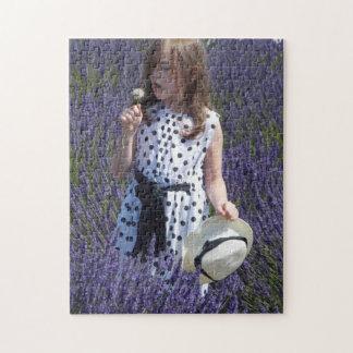 Lavender Fields Jigsaw Puzzle