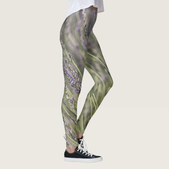 Lavender Fields Leggings