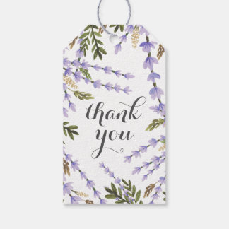 Lavender Fields Thank You Pack Of Gift Tags