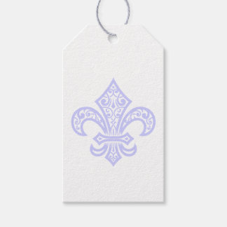 Lavender Fleur de Lis Gift Tags Pack Of Gift Tags