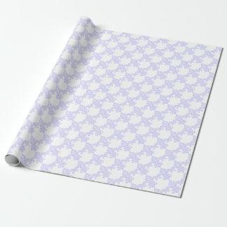 Lavender Fleur de Lis Gift Wrap