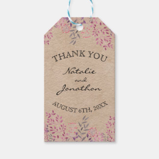 Lavender Floral Gift Tags Pack Of Gift Tags