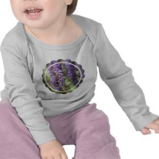 Lavender Flower Infant Tee Shirt