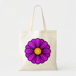 Lavender Flower Tote