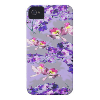 Lavender Flowers iPhone 4 Cases