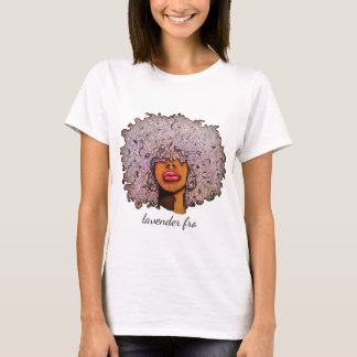 Lavender Fro Jersey T-Shirt