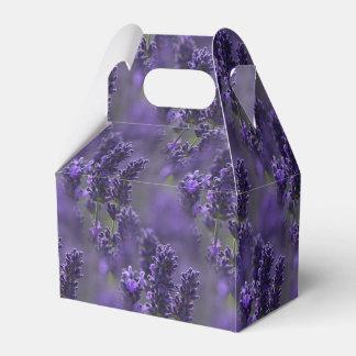 Lavender Gable Favor Box