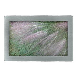Lavender Grass Belt Buckles