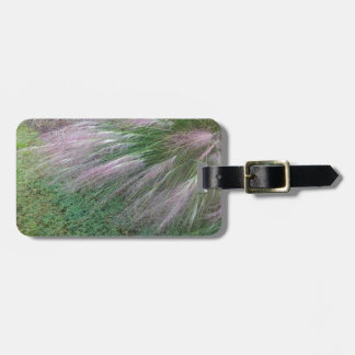 Lavender Grass Luggage Tag