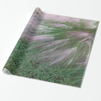 Lavender Grass Wrapping Paper