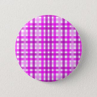 Lavender Grid 2 Inch Round Button