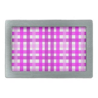 Lavender Grid Belt Buckles
