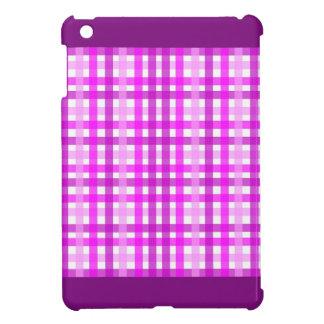 Lavender Grid iPad Mini Case