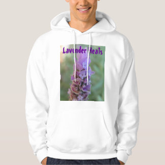 Lavender Heals mens hoodie