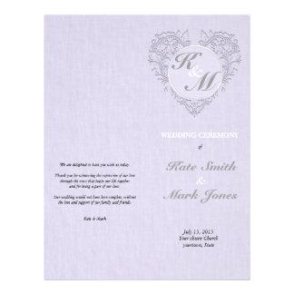 Lavender HeartyChic Custom Flyer