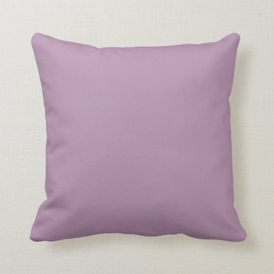 Lavender Herb Spring 2015 Solid Colour Throw Pillow