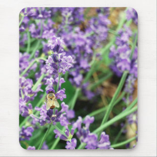 Lavender & Honeybee Mouse pad