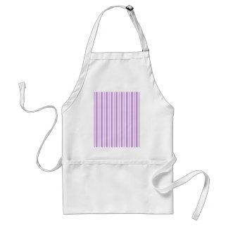 Lavender Horizontal Pinstripe Standard Apron