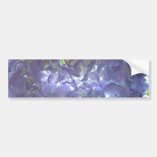 Lavender Hydrangeas Bumper Sticker