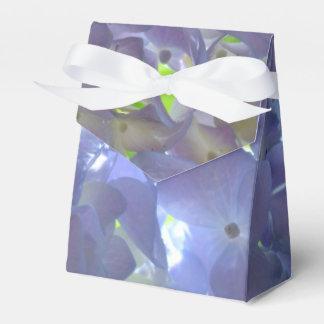 Lavender  Hydrangeas Favor Box