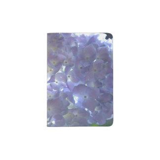 Lavender Hydrangeas Passport Holder
