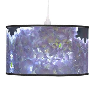 Lavender  Hydrangeas Pendant Lamp