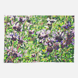 Lavender in Chrome Kitchen Towel