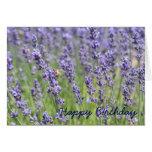 Lavender Inspired Birthday Card