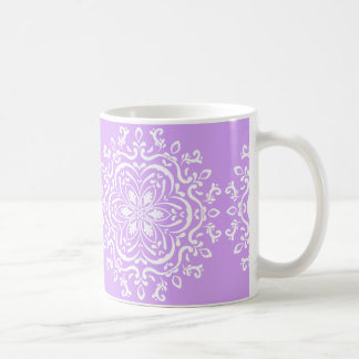 Lavender Mandala Coffee Mug