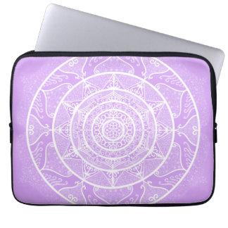 Lavender Mandala Laptop Sleeve