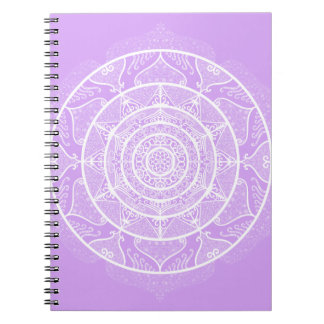 Lavender Mandala Notebooks