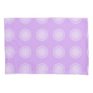 Lavender Mandala Pillowcase