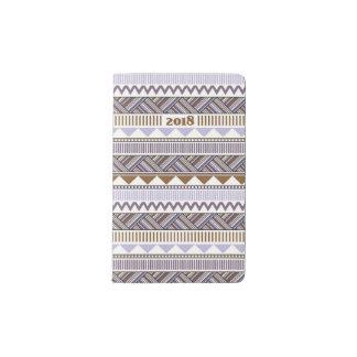 Lavender Maze#1 Pocket Moleskine Notebook