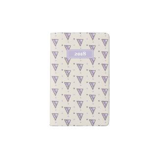 Lavender Maze#4 Pocket Moleskine Notebook