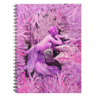 Lavender Mermaid Notebook